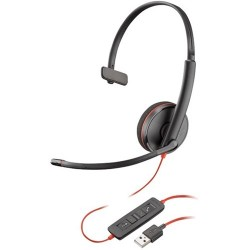 Plantronics Blackwire C3210 Monaural Wired USB-A UC Headset