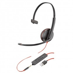 Plantronics Blackwire C3215 Monaural Wired USB-A UC Headset