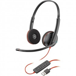 Plantronics Blackwire C3220 Binaural Wired USB-A UC Headset