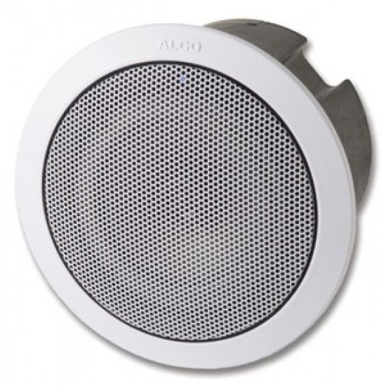 ALGO 8188 SIP CEILING SPEAKER FOR VOICE PAGING, EMERGENCY NOTIFICATION, AND BACKGROUND MUSIC.