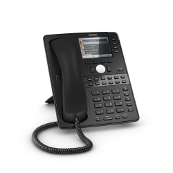 Snom D765 12-Line 16-Button Colour SIP Deskphone Gigabit PoE
